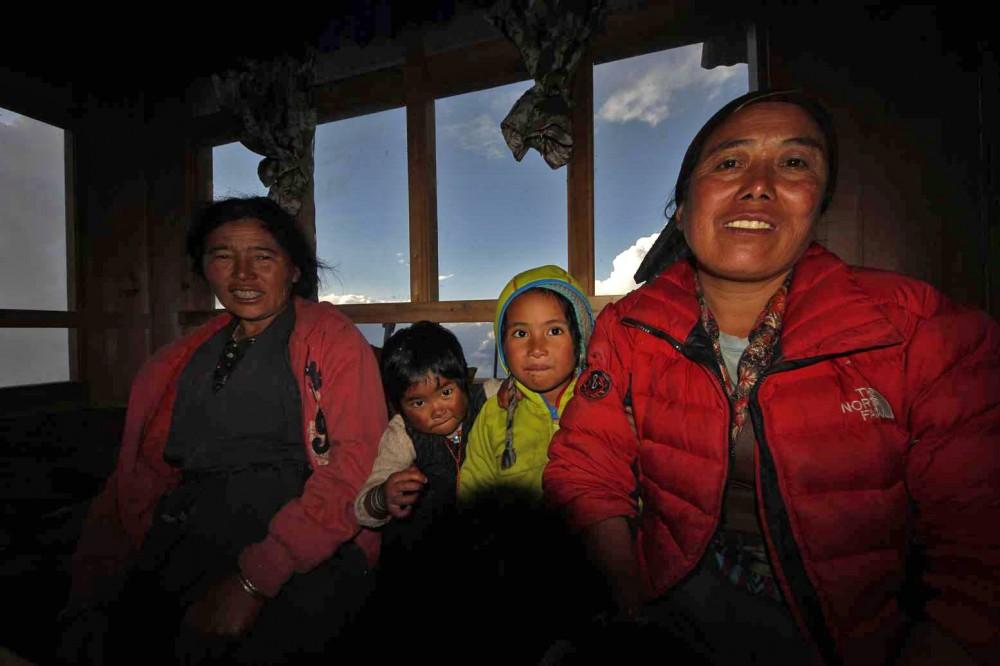 Nepal lodži Goasaikund