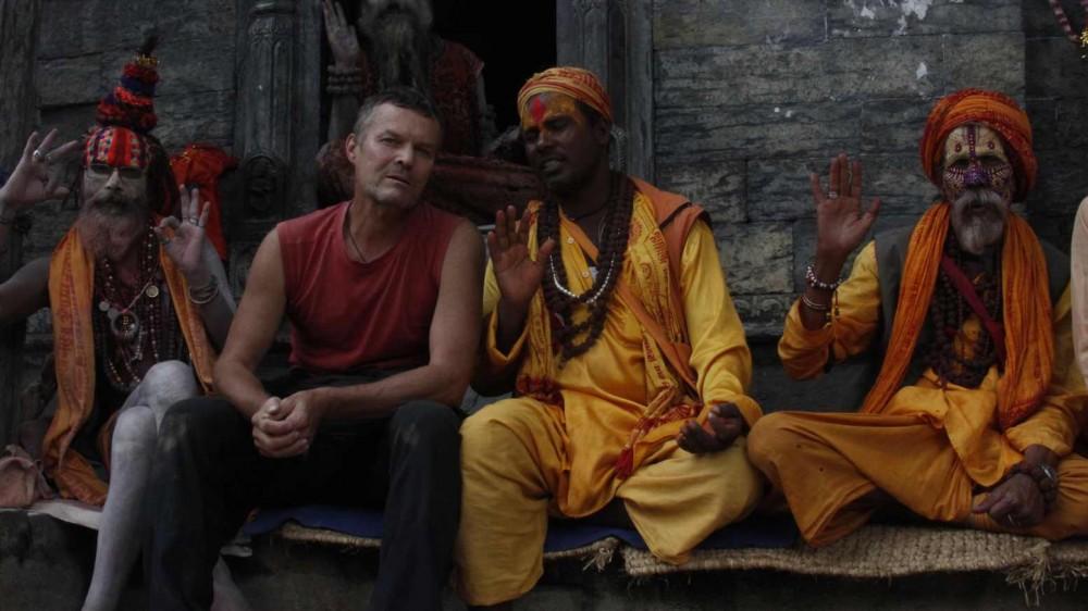 Nepal sadhu a já