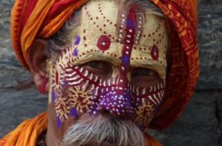 Nepal sadhu 'svatý' muž