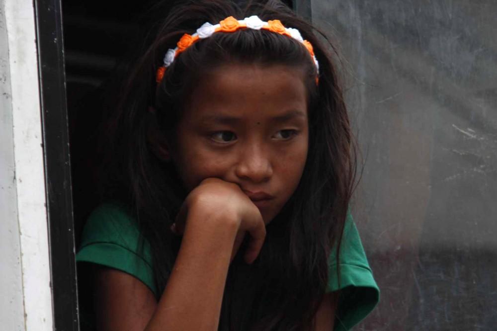 Nepal smutný pohled